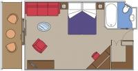 MSC Yacht Club De Luxe Suite