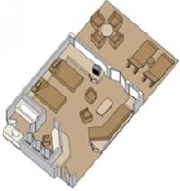 Σουίτα με ιδιωτικό μπαλκόνι (Κατ. SA,SB)