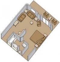 Σουίτα με ιδιωτικό μπαλκόνι (Κατ. SS,SY)