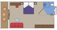 MSC Yacht Club De Luxe Suite για άτομα με ειδικές ανάγκες