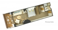 Club καμπίνα με ιδιωτικό μπαλκόνι (ΑΑ)