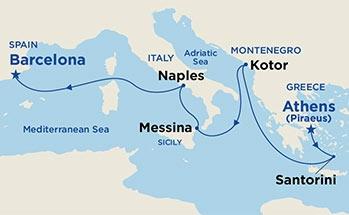 Aδριατική & Δυτική Μεσόγειος (16Pri57)