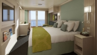 Spa Verandah Staterooms (Κατηγορίες: VQ, VS, V, VA, VB, VC, VD, VE, VF)