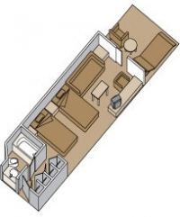 Μικρή Σουίτα με ιδιωτικό μπαλκόνι (Κατ. A,B,BB,BC)