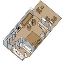 Σουίτα με μπαλκόνι (Kατ. SS,SY,SZ)