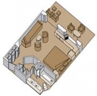 Μικρή σουίτα με μπαλκόνι (Κατ. A,B,BA,BB,BC)