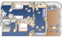 Οικογενειακή σουίτα με ιδιωτικό μπαλκόνι