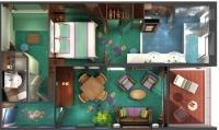 Σουίτες & Βίλες με ιδιωτικό μπαλκόνι