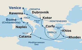 Αιγαίο & Αδριατική (17Pri33)