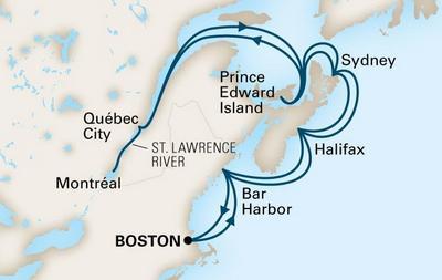 Ανακάλυψη του Καναδά & της Νέας Αγγλίας (18HAL9b)