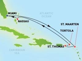 Ανατολική Καραϊβική από Μαϊάμι  (*NCL29)