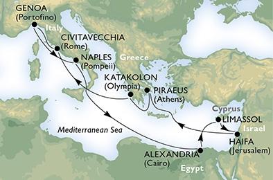 Μεσογειακή Απόδραση (*16MSC20)