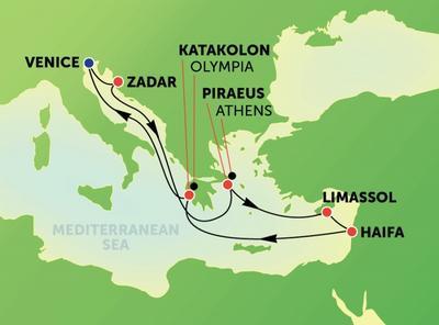 Ανατολική Μεσόγειος & Άγιοι Τόποι (NCL10)
