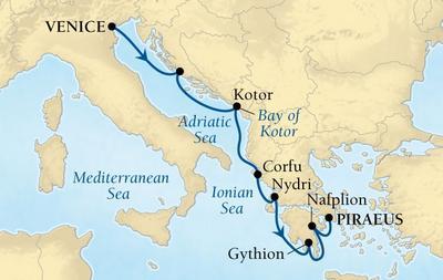 Από Βενετία στον Πειραιά (18Sea3)