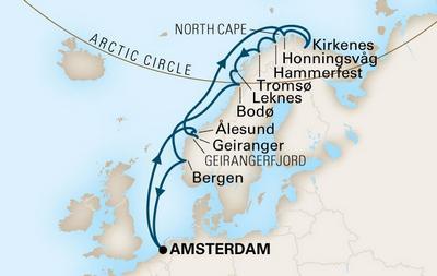 Από Ολλανδία στην Νορβηγία & στο Βόρειο Ακρωτήριο (19HAL80a)
