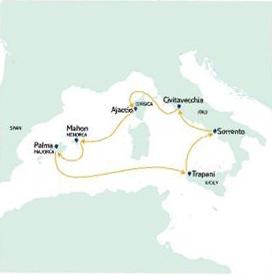 Από Πάλμα Μαγιόρκα στη Δυτική Μεσόγειο (19THO26)