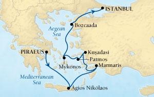 Από Πειραιά στην Κωνσταντινούπολη-Ελληνικά Νησιά & Τουρκία (16Sea5)