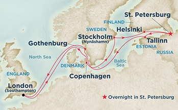 Βαλτική - 8 Xώρες σε 14 Ημερες  (Pri 51)