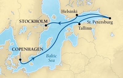 Βαλτική & Αγία Πετρούπολη (17Sea18)