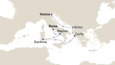 Βενετία & Ρώμη (17Cun8)