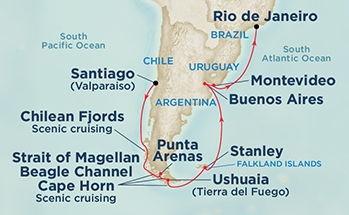 Διαδρομή στο Cape Horn (Pri 61)