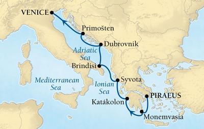 Δαλματικές Ακτές από Πειραιά (17Sea15)