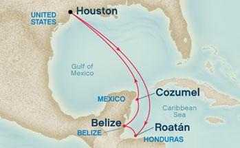 Από Χιούστον στη Δυτική Καραϊβική  (16Pri19)