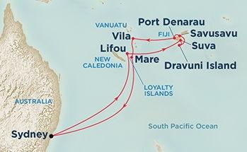 Νησιά Φίτζι & Νότιος Ειρηνικός (Pri 34c)