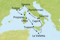 Italy, France, Malta (Cos35)