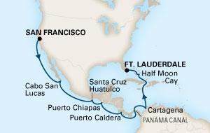 Καλιφόρνια, Διάπλους Καναλιού Παναμά, Μαϊάμι (16HAL58)