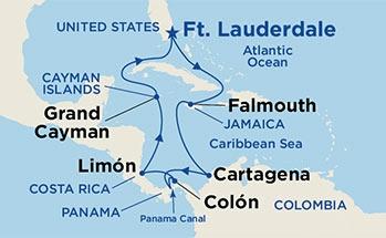 Κανάλι Παναμά, Κόστα Ρίκα & Τζαμάικα (19Pri86)