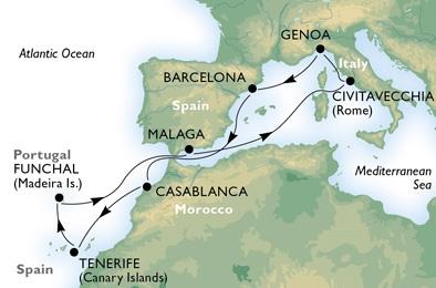 Κανάρια Νησιά & Μαρόκο (*MSC31)