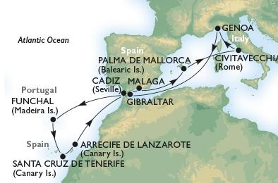Κανάρια Νησιά (*MSC25)