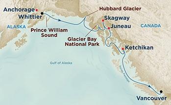 Κρουαζιέρα στους Παγετώνες της Αλάσκας (Pri 2b)