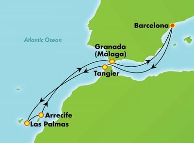 Mαρόκο, Μαδέϊρα & Κανάρια Νησιά (NCL10)