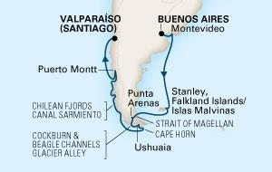 Nότιος Αμερική και Γή του Πυρός (18HAL59)