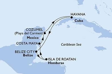 Πάμε Κούβα & Μεξικό !  (18MSC40)