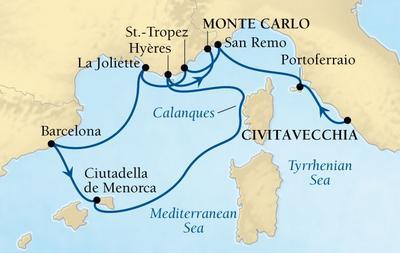Από Ρώμη στο Μόντε Κάρλο - Δυτική Μεσόγειος (Sea 6)
