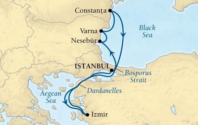 Από Κωνσταντινούπολη στη Μαύρη Θάλασσα & Σμύρνη (Sea 20)