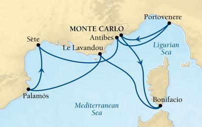 Από Μόντε Κάρλο στη Νότιο Γαλλία, Ισπανία & Ιταλία (16Sea3)