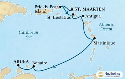 Από Ολλανδικές Αντίλες στην Αρούμπα (Sea8)
