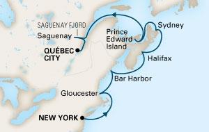 Στα Χρώματα του Καναδά & της Νέας Αγγλίας (16HAL83)