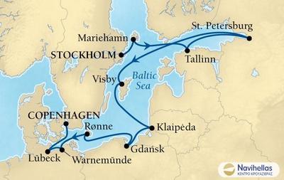 Stockholm to Copenhagen (Sea4)