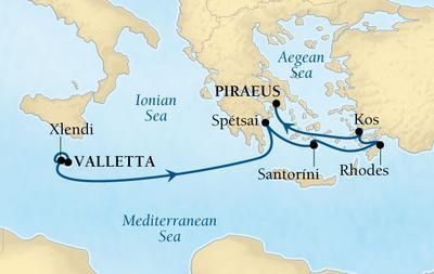 Τα Νησιά της Μεσογείου (17Sea14)
