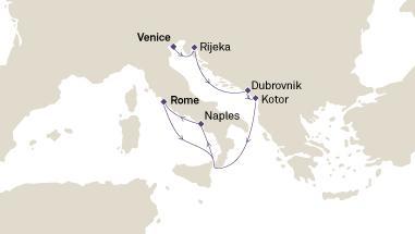 Ταξίδι στις Δαλματικές Ακτές (18Cun11)