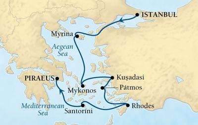 Από Κωνσταντινούπολη στον Πειραιά - Ελληνικά Νησιά & Τουρκία (Sea 16)