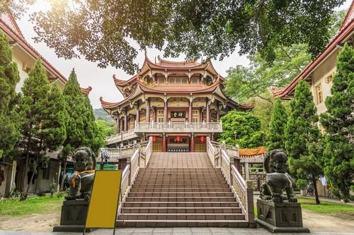 Ξιαμέν: Ναός Νότιου Πούτουο στο Ξιαμέν. Κίνα.