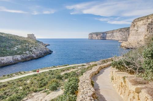 """Ξλέντι: Προφανώς, το τότε πλοίο """"Xelandion"""" είχε αγκυροβολήσει σ' αυτόν το κόλπο από το όνομα του οποίου ονομάστηκε η πόλη Ξλέντι. Μάλτα"""