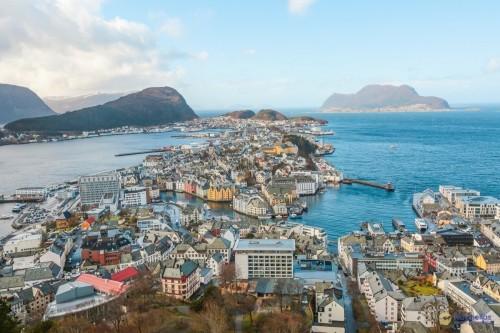 Ισλανδία & Νορβηγία (19Pri39) (Αάλεσουντ)