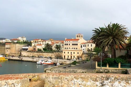 Αλγκέρο (Σαρδηνία) : Η όμορφη πόλη Αλγκέρο στη Σαρδηνία. Ιταλία.